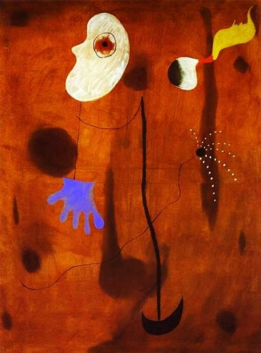1925 Joan Miro (Spanish Surrealist Painter and Sculptor, 1893-1983)  Untitled. 1925.