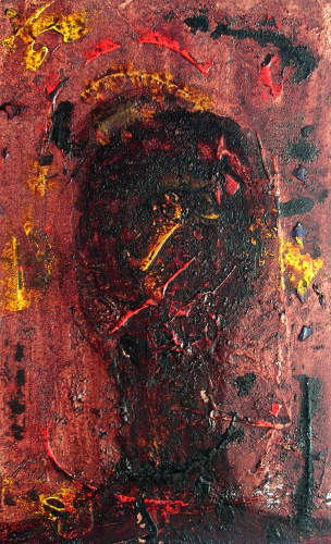 gawaju-People-Faces-Death-Illness-Modern-Age-Abstract-Art-Radical-Painting
