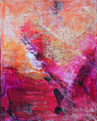 divine-heart-abstract-orange-pink-heart-painting-8x10-original-contemporary-modern-painting-belinda-capol