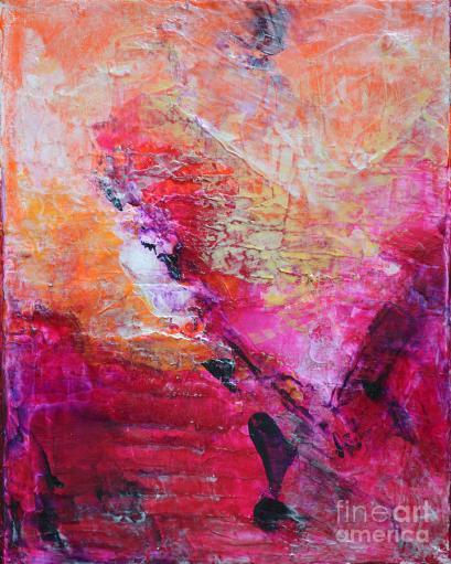 divine-heart-abstract-orange-pink-heart-painting-8x10-original-contemporary-modern-painting-belinda-capol