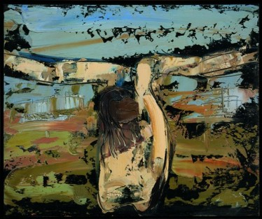 4.CrocefissoNo.9(Crucifix)1961PrivatecollectionMilan©TheWilliamG.CongdonFoundation
