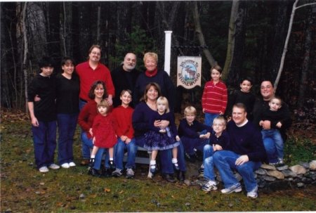 Rare Gathering of the Lenzi Clan (Minus One Granddaughter) Circa 2008