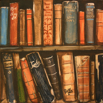 Kyle_Poirier_Book_Shelf_2012