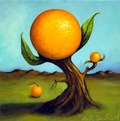 orange-tree-leah-saulnier-the-painting-maniac