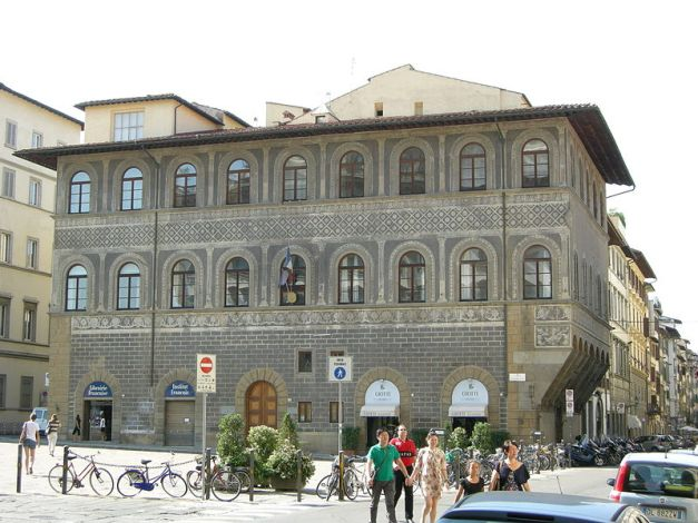 Palazzo Lenzi Located on Piazza Ognissanti in Florence, Italy Photo from wikipedia.org