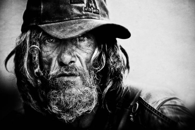Black and White Portraits of the Homeless by Lee Jeffries (1)