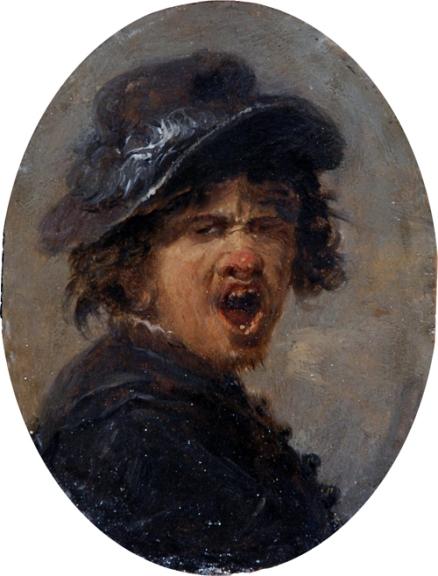 head of a peasant JoosvanCraesbeekOvaalF1