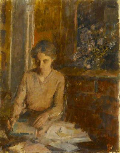 Shephard, Rupert, 1909-1992; Woman Writing a Letter