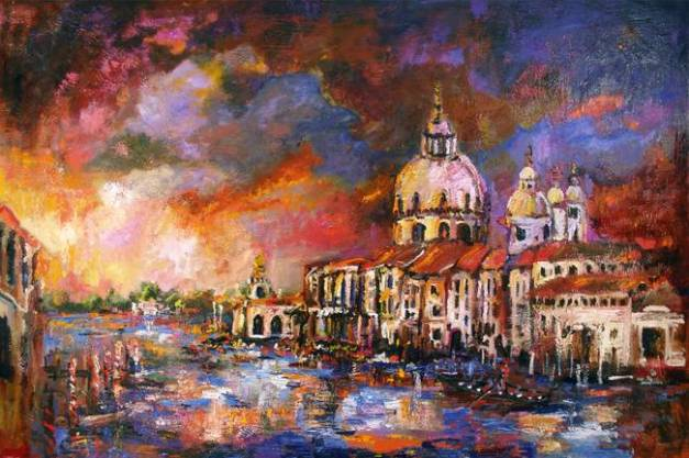venice-sunset-italy-ginette-callaway