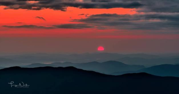 red dawn from mt wash terry noack